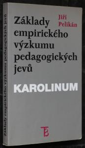 náhled knihy - Základy empirického výzkumu pedagogických jevů