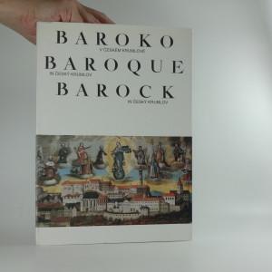 náhled knihy - Baroko v Českém Krumlově = Baroque in Český Krumlov = Barock in Český Krumlov