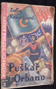 náhled knihy - Puškař Orbano : dějepisný román pro mládež