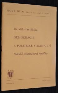 náhled knihy - Demokracie a politické stranictví