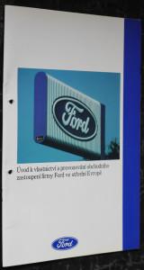 náhled knihy - Úvod k vlastnictví a provozování obchodního zastoupení firmy Ford ve střední Evropě