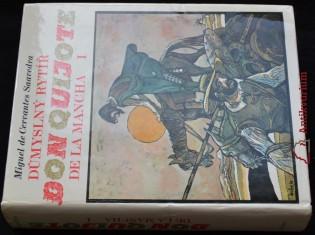 náhled knihy -  Důmyslný rytíř don Quijote de la Mancha, 2 sv.