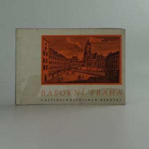 náhled knihy - Barokní Praha v rytinách B.B. Wernera