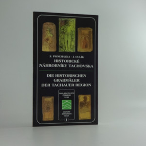 náhled knihy - Historické náhrobníky Tachovska = Die historischen Grabmäler der Tachauer Region