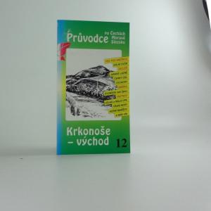 náhled knihy - Krkonoše - východ - 12 Průvodce po Čechách ...