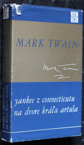 náhled knihy - Connecticut Yankee in king Arthur's court. Slovensky Yankee z Connecticutu na dvore kráľa Artuša