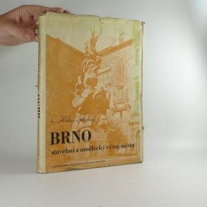 náhled knihy - Brno, stavební a umělecký vývoj města