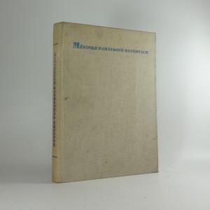 náhled knihy - Městské památkové reservace v Čechách a na Moravě
