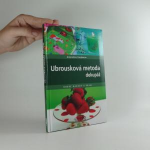 náhled knihy - Ubrousková metoda : dekupáž
