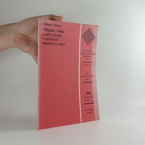 náhled knihy - Mikuláš z Husi a nižší šlechta v počátcích husitské revoluce