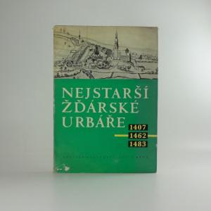 náhled knihy - Nejstarší žďárské urbáře : 1407, 1462, 1483