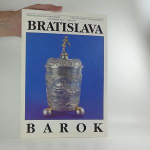 náhled knihy - Bratislava v období baroka