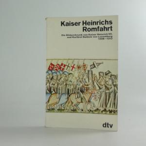 náhled knihy - Kaiser Heinrichs Romfahrt