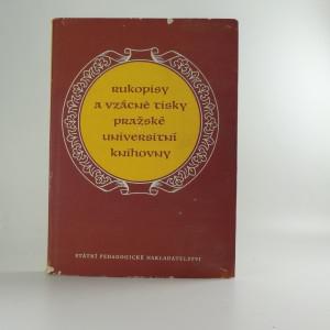 náhled knihy - Rukopisy a vzácné tisky pražské Universitní knihovny