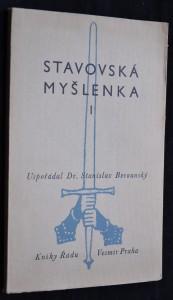 náhled knihy - Stavovská myšlenka : I. sborník statí