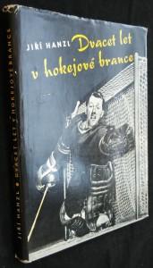 náhled knihy - Dvacet let v hokejové brance