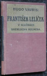 náhled knihy - František Lelíček v službách Sherlocka Holmesa