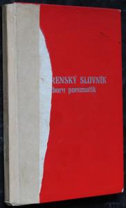 náhled knihy - Gumárenský slovník
