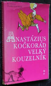 náhled knihy - Anastázius Kočkorád, velký kouzelník