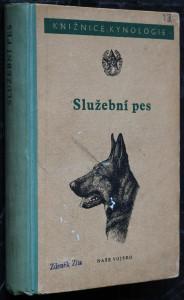 náhled knihy - Služební pes : Příručka pro přípravu specialistů v chovu služebních psů : [Sborník