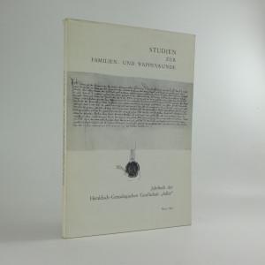 náhled knihy - Studien zur Familien- und Wappenkunde: Jahrbuch der Heraldisch-Genealogischen Gesellschaft