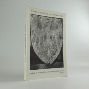 náhled knihy - Studien zur Familien- und Wappenkunde: Jarbuch der Heraldisch-Genealogischen Gesellschaft