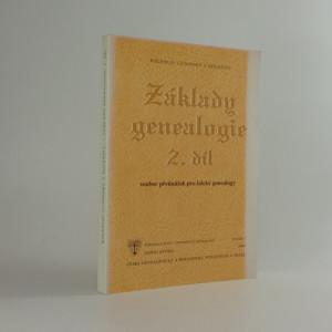 náhled knihy - Základy genealogie 2. díl:  soubor přednášek pro laické genealogy