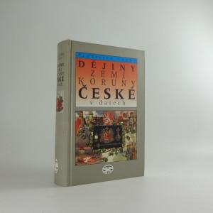 náhled knihy - Dějiny zemí Koruny české v datech