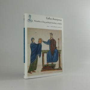 náhled knihy - Kronika a činy polských knížat a vládců