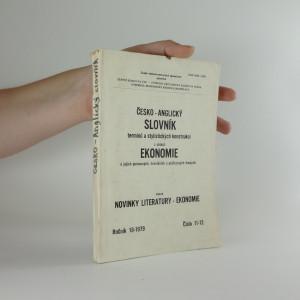 náhled knihy - Česko-anglický slovník termínů a stylistických konstrukcí z oblasti ekonomie a jejích pomocných, hraničních a průřezových disciplín