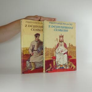 náhled knihy - Dějiny národu českého (2 díly)
