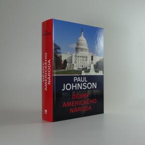 náhled knihy - Dějiny amerického národa