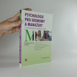náhled knihy - Psychologie pro ekonomy a manažery