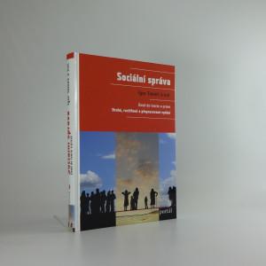 náhled knihy - Sociální správa : úvod do teorie a praxe