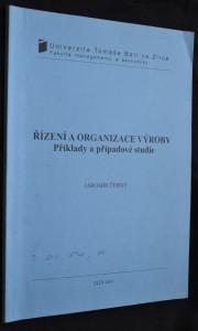 náhled knihy - Řízení a organizace výroby: Příklady a případové studie