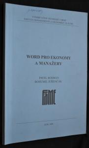náhled knihy - Word pro ekonomy a manažery