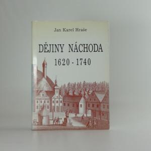 náhled knihy - Dějiny Náchoda 1620-1740