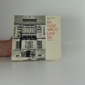 náhled knihy - Ratusz wrocławski
