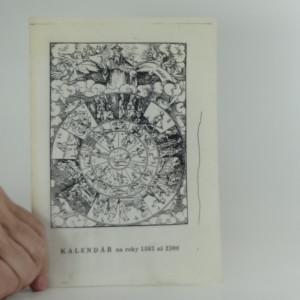 náhled knihy - Kalendář na roky 1583 až 2300