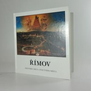náhled knihy - Římov : historie obce a poutního místa