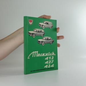 náhled knihy - Automobily Moskvich 412, 427, 434