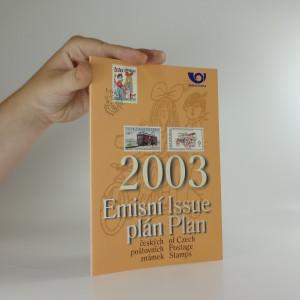 náhled knihy - Emisní plán českých poštovních známek 2003