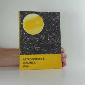 náhled knihy - Astronomická ročenka 1986