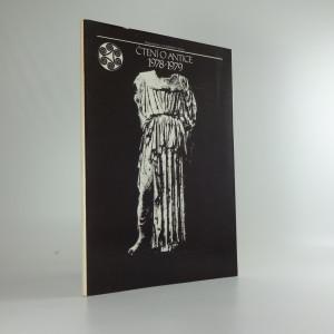 náhled knihy - Čtení o antice 1978-1979