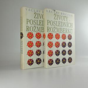 náhled knihy - Životy posledních Rožmberků I. a II.
