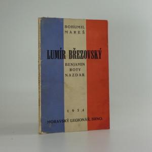 náhled knihy - Benjamin Roty Nazdar, Bohumil Mareš