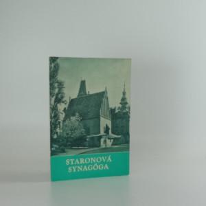 náhled knihy - Staronová synagoga
