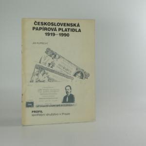 náhled knihy - Československá papírová platidla 1919-1990