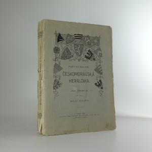 náhled knihy - Českomoravská heraldika I. část všeobecná