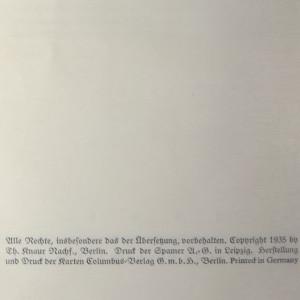 antikvární kniha Knaurs Weltgeschichte, 1935